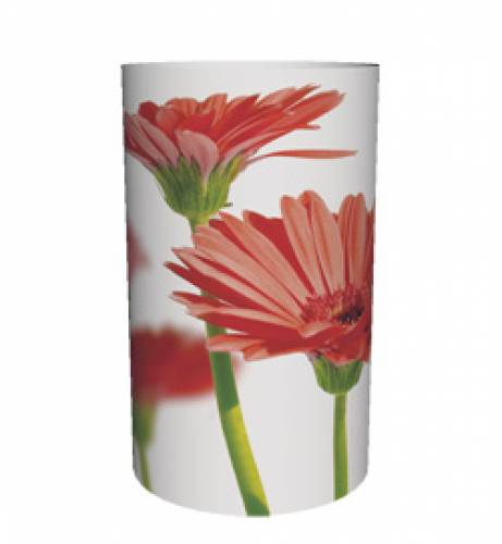 Candlecover Red Flower