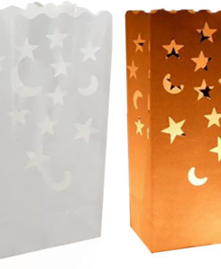Candle bag ster maan kaarsenzak2