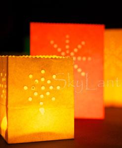 Gekleurde Candle Bags
