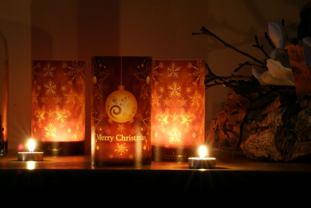 Candlecover-Brown Christmas+Winter-1