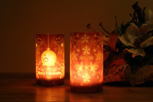 Candlecover_snow brown