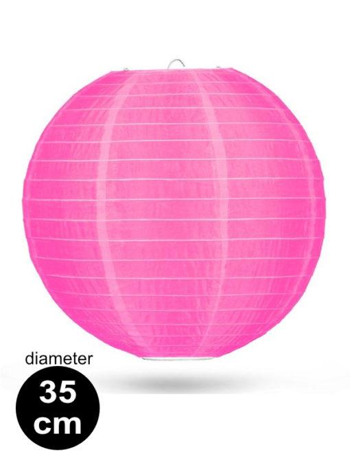 Candy Roze Nylon lampion 35cm weerbestendige lampionnen voor buiten