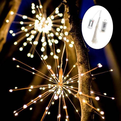 fireworks lamp explosie bal