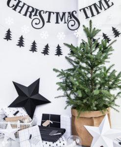 stijlvolle kerstslinger