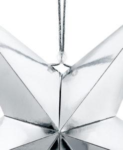 zilveren ster 45 cm