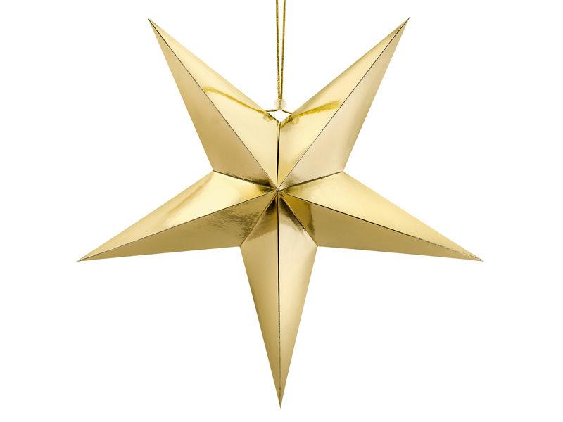 Gouden ster 70cm