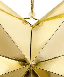 deatil gouden ster 70 cm