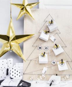 gouden kerst ster