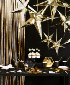Gouden sterren decoratie