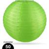 Groene Nylon lampion 50cm weerbestendige lampionnen voor buiten