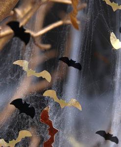 vleermuis confetti Halloween