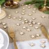 Tafelconfetti houten sterren