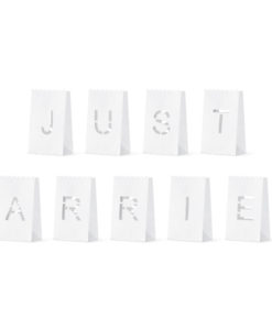 Just married candlebags
