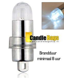 Led lampje wit voor lampionnen, ballonnen en candlebags