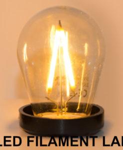 LED Filament prikkabel lamp