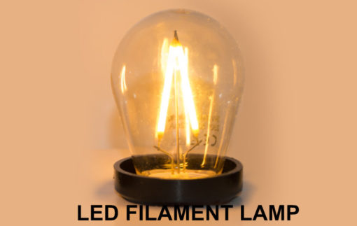 LED Filament prikkabel lamp
