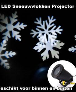 Kerstverlichting LED sneeuwvlokken projector