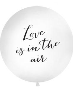 Mega ballon love is in the air