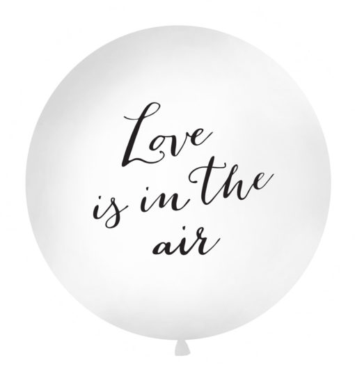 Mega ballon love is in the air
