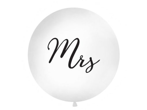 Mega ballon Mrs