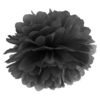 zwarte pompon