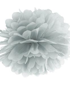 zilveren pompon