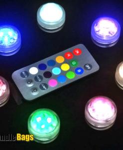 Meer kleuren leds met afstandsbediening