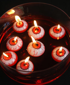 drijvende oogbal kaarsen