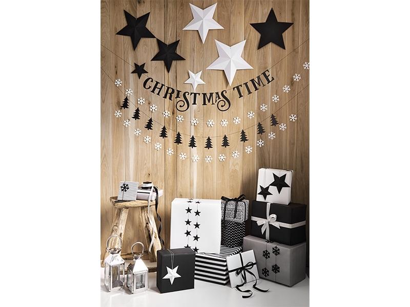 Zwart Wit Kerstdecoraties : Diy kerst sterren pakket wit unieke kerstdecoratie
