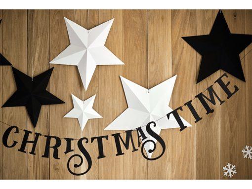 kerst decoratie zwart