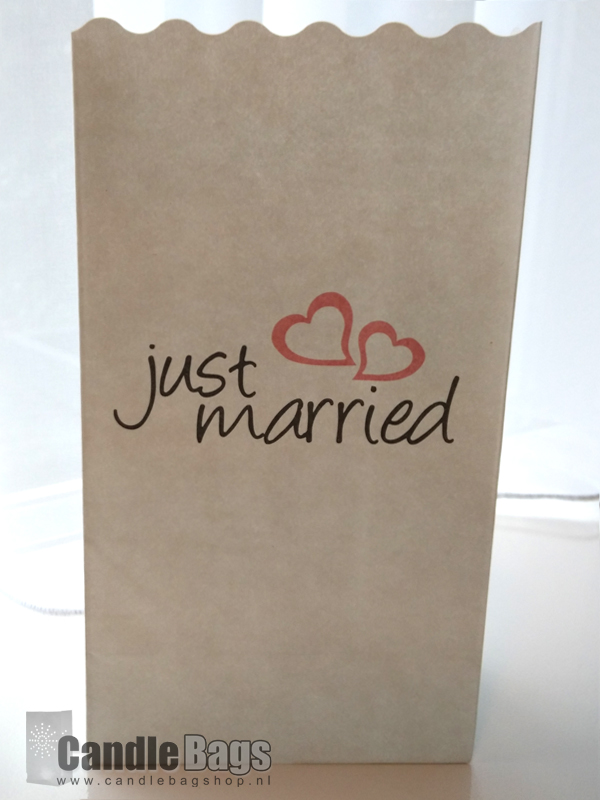 candlebag just married
