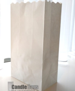 neutrale candlebag blanco