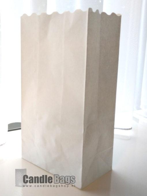 neutrale candlebag blanco