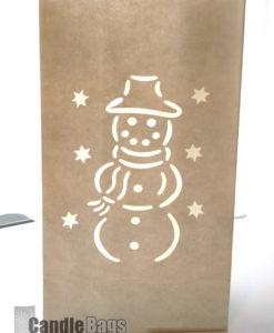 candlebag sneeuwpop