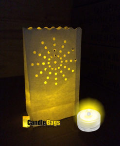 mooi warm licht met LED gel