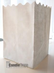 candle bag blanco midi