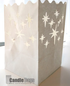 candle bag midi starburst
