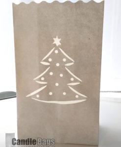 candle bag kerstboom