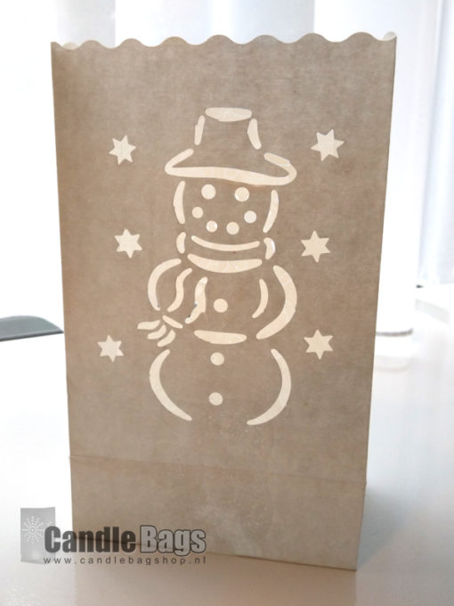 candlebag midi sneeuwpop