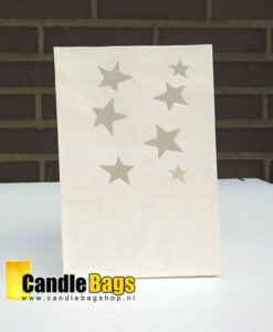 candle bag met sterren