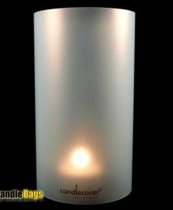 candlecover-UNI-LIGHT-BLUE