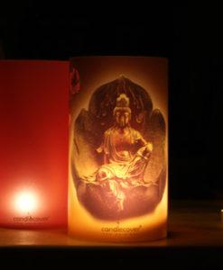 candlecover Boeddha Bronze2