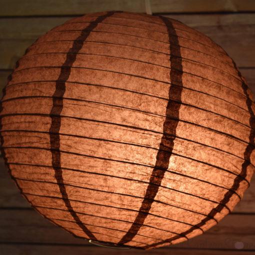 bruine lampion