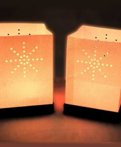 drijvende candle bag