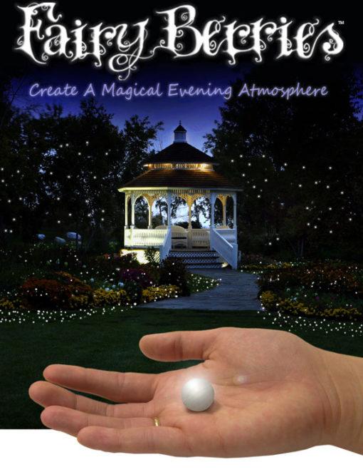 10 witte Fairy Berries / Pearls