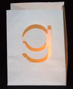 candle bag g
