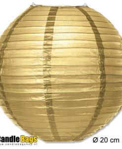 gouden lampion 20 cm