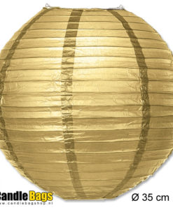 gouden lampion van 35cm