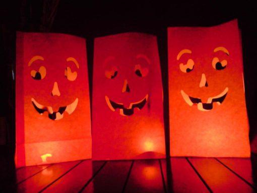 candlebags speciaal voor halloween