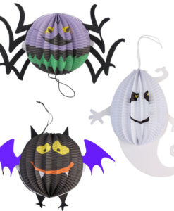 Halloween lampion set van 3 Candlebagshop.nl